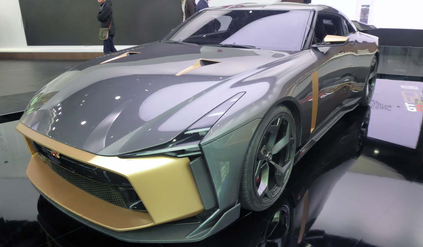Conceptcar Nissan GT-R50 by Italydesign