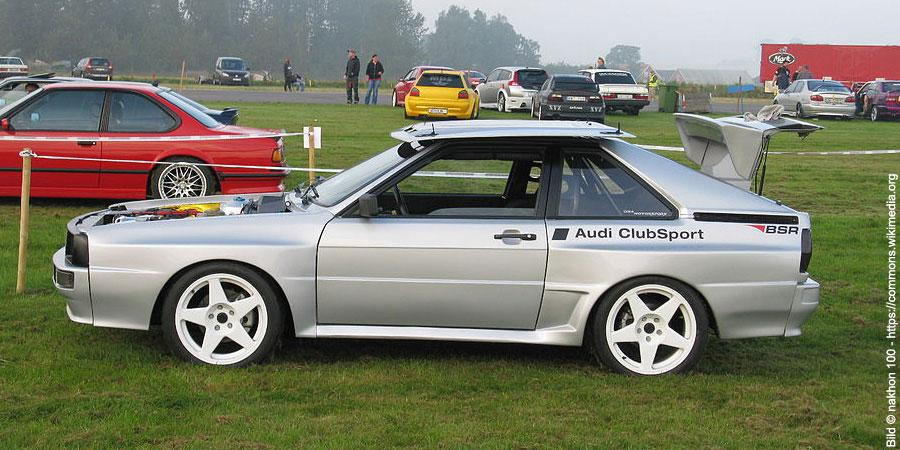 Die Geschichte Des Audi Urquattro