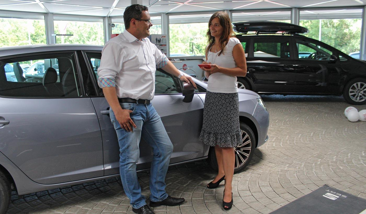 Interview mit Automobilverkäufer