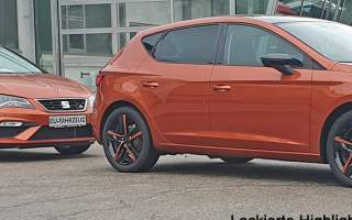 Highlights lackiert SEAT Leon Orange