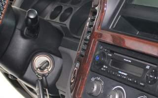 Wurzelholzoptik Fahrzeug Innenraum